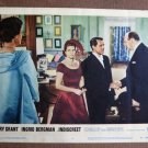 BY23 Indiscreet CARY GRANT and INGRID BERGMAN Original 1958 Lobby Card