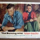 BZ08 Burning Hills TAB HUNTER and NATALIE WOOD Original 1956 Lobby Card
