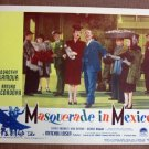BZ29 Masquerade In Mexico DOROTHY LAMOUR 1946 Lobby Card