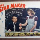 BL40 Star Maker BING CROSBY Original 1939 Lobby Card