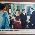 BR30 Indiscreet CARY GRANT and INGRID BERGMAN 1958 Lobby Card
