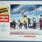 KNOCK ON WOOD Danny Kaye orig '54 lobby card