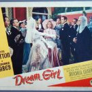 DREAM GIRL   Betty Hutton orig '48 lobby card