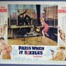 PARIS WHEN IT SIZZLES Audrey Hepburn '64 LC