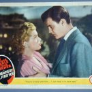 SOMEWHERE I'LL FIND YOU Lana Turner orig '42 lobby card
