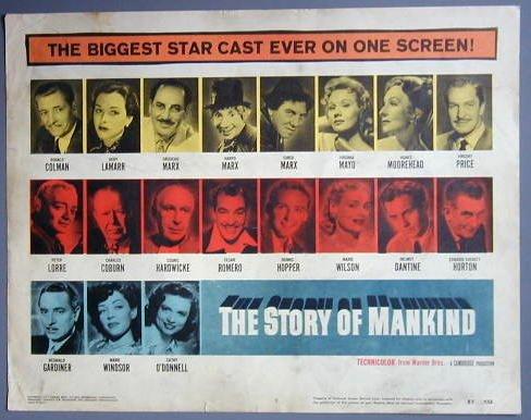 STORY OF MANKIND Marx Bros orig 57 TC