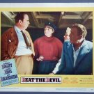 BEAT THE DEVIL Humphrey Bogart original '53 lobby card