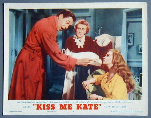 KISS ME KATE Kathryn Grayson original '53 lobby card