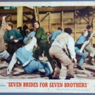 SEVEN BRIDES FOR SEVEN BROTHERS Howard Keel original 54  Lobby Card
