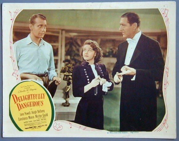DELIGHTFULLY DANGEROUS Jane Powell 1945 lobby card