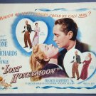 LOST HONEYMOON Franchot Tone original 1947 title card