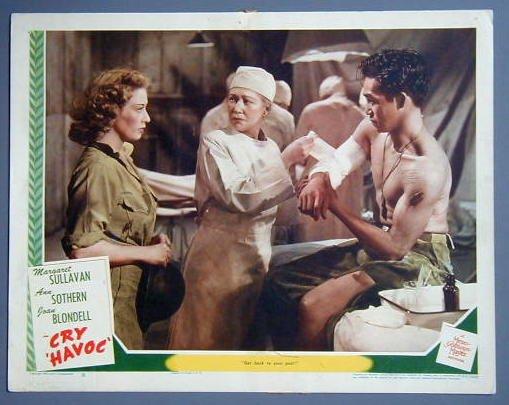 CRY HAVOC Margaret Sullavan original 1943 lobby card