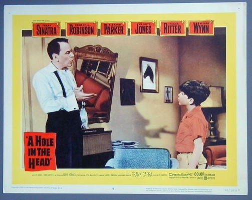 HOLE IN THE HEAD Frank Sinatra original 1959 lobby card