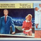 TAMMY & THE DOCTOR Sandra Dee/Peter Fonda original '63 Lobby Card