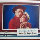 AB01 ALONG GREAT DIVIDE Kirk Douglas portrait '51 LC