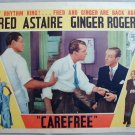 AC10 CAREFREE Fred Astaire/Ginger Rogers orig '38  LC