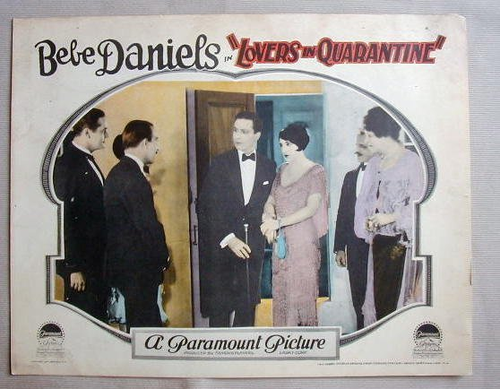 AC30 LOVERS IN QUARANTINE Bebe Daniels orig '25 LC