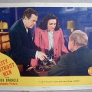 AD06 CITY WITHOUT MEN Linda Darnell orig '42 lobby card