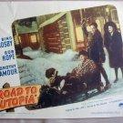 AD41 ROAD TO UTOPIA Bing Crosby/Bob Hope/Lamour '45 LC