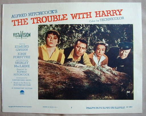 AD48 TROUBLE WITH HARRY S. MacLaine HITCHCOCK '55 LC