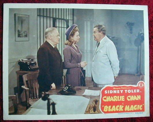 AF07 BLACK MAGIC Charlie Chan SIDNEY TOLER '44 LC