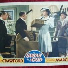 AF44 SUSAN AND GOD Joan Crawford TERRIFIC IMAGE '40 LC