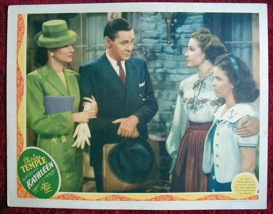 AH16 KATHLEEN Shirley Temple orig 1941 lobby card