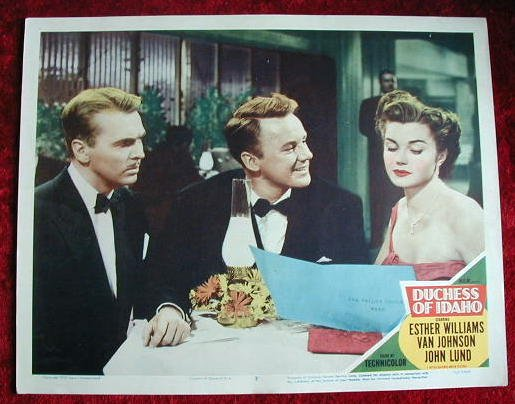 AI03 DUCHESS OF IDAHO Esther Williams orig '50   LC