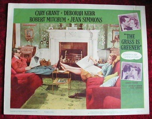 AI07 GRASS IS GREENER Cary Grant/Deborah Kerr  '61  LC
