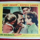 AI11 HOUSEBOAT Cary Grant/Sophia Loren orig '58 LC
