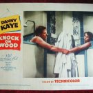 AI17  KNOCK ON WOOD Danny Kaye orig '54 lobby card