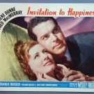 AP28 INVITATION TO HAPPINESS Dunne/MacMurray  '39  LC
