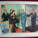 AJ26 A KISS FOR CORLISS  David Niven original  '49 lobby card