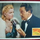 AK24 MURDER OVER NEW YORK Charlie Chan TOLER c/u '40 lobby card