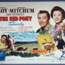 AM32 RED PONY Myrna Loy/Robert Mitchum TERRIFIC '49 TC