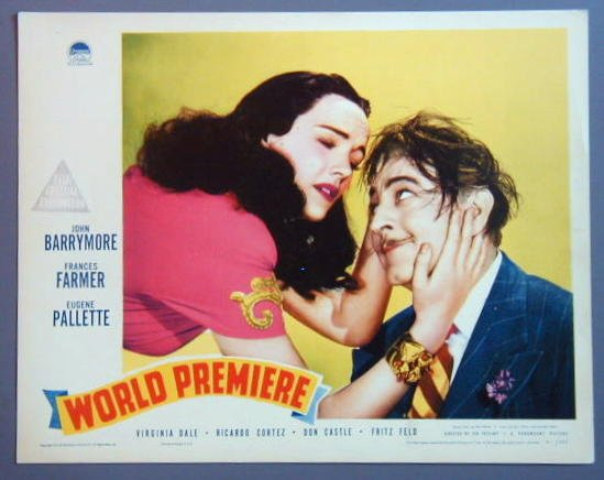 AP53 WORLD PREMIERE John Barrymore/Farmer '41 GREAT LC