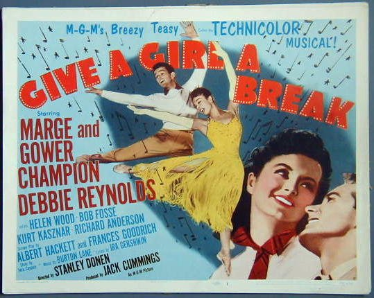 AU25 GIVE A GIRL A BREAK Marge/Gower Champion  '53  TC