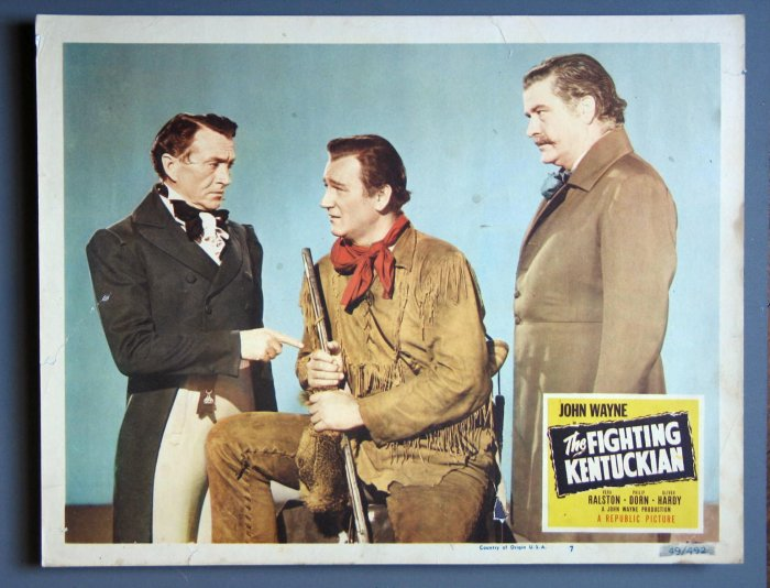 AW16 FIGHTING KENTUCKIAN John Wayne Orig '49 LOBBY CARD