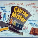 AT13 CALL ME MISTER Betty Grable orig '51 title card