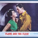 AW17 FLAME & THE FLESH Lana Turner Orig '54 Lobby Card