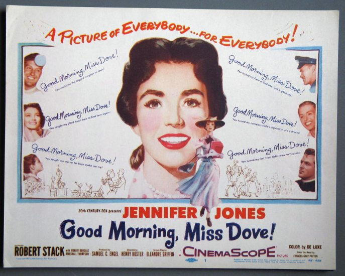 AY19 Good Morning Miss Dove JENNIFER JONES Title Card