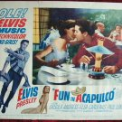 AK10 FUN IN ACAPULCO  Elvis Presley original  '63 lobby card