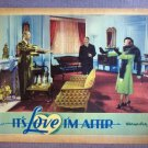 DQ24 It's Love I'm After BETTE DAVIS 1937 Lobby Card