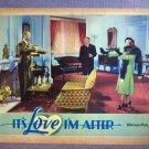 DQ24 It's Love I'm After BETTE DAVIS 1937 Lobby Card