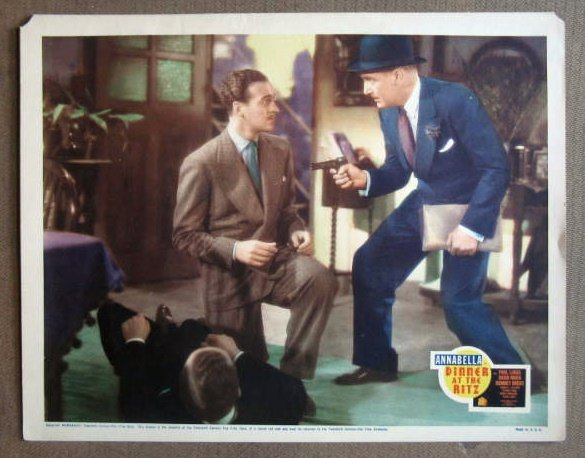 DS16 Dinner At The Ritz DAVID NIVEN Org 1937 Lobby Card