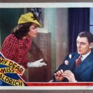DS30 My Dear Miss Aldrich MAUREEN O'SULLIVAN Lobby Card