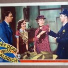 DW29 Dear Miss Aldrich MAUREEN O'SULLIVAN Lobby Card