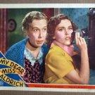 DW30 Dear Miss Aldrich MAUREEN O'SULLIVAN Lobby Card