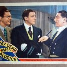 DZ27 My Dear Miss Aldrich WALTER PIDGEON '37 Lobby Card