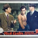 EB26 Nick Carter WALTER PIDGEON 1939 Lobby Card